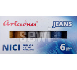 Sestava jeansových speciálních nití