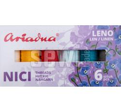 Sestava nití Leno Sky Leno 40/70 m - 6 barev (nebe)
