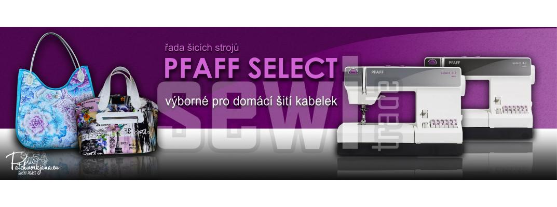 Pfaff select - šicí stroje