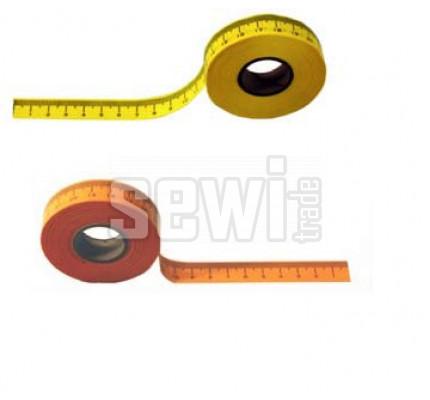 Samolepící metr žlutý v cm