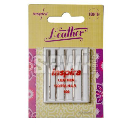 Jehly Inspira Pfaff, Husqvarna 620106696 leather - 100 - 5 ks