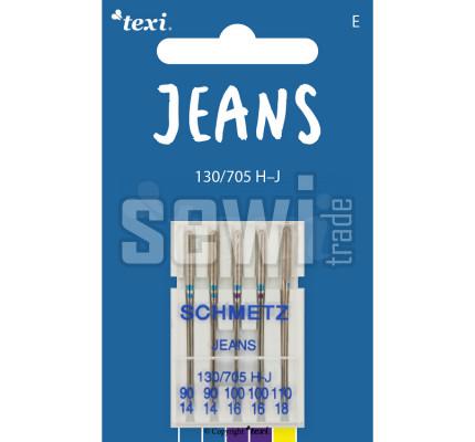 Jehly na džínovinu TEXI JEANS 130/705 H-J 5x90-110