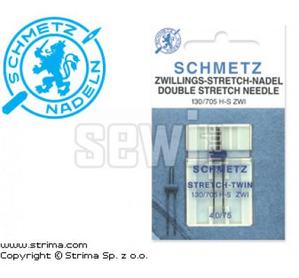 Dvojjehla na pleteninu 130/705 H-S ZWI