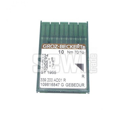 134 R (Nm 70/10) Groz-Beckert GEBEDUR