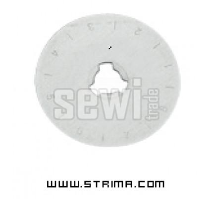 Háhradní kolečko 45mm DW-RB001SC