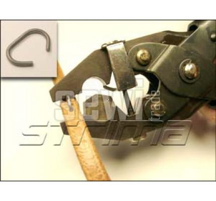 Sponka na kožený řemen B110 - staple