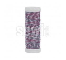 Polyesterová nit žíhaná Viga 80 multicolor 150m - 9043
