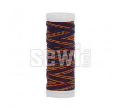 Polyesterová nit žíhaná Viga 80 multicolor 150m - 9045