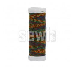 Polyesterová nit žíhaná Viga 80 multicolor 150m - 9049