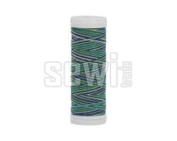 Polyesterová nit žíhaná Viga 80 multicolor 150m - 9050