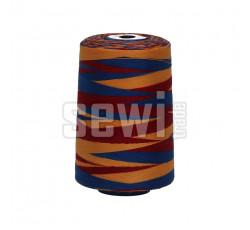 Polyesterová nit žíhaná Viga 80 multicolor - 9045