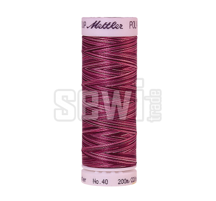Nit Poly Sheen Multi - Cranberry Frost