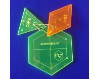 "Šablona Hexagon 1.5"" Set"