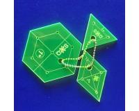 "Šablona Hexagon 1"" Set"