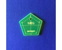 Šablona Pentagon - Jelly Roll