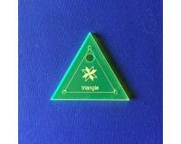 Šablona Trojúhelník - Jelly Roll