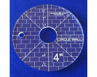 """Šablona Kruhová zeď 4"""""""