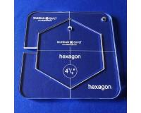 "Šablona Hexagon 4½"""