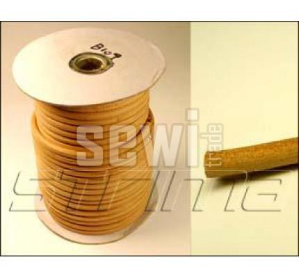 Kulatý kožený řemen na šlapací šicí stroj síla 6mm