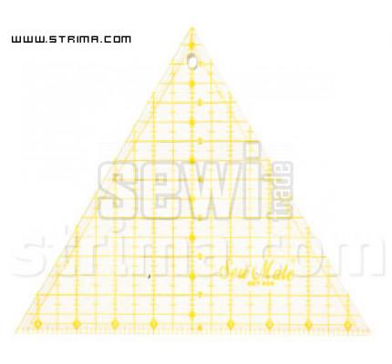 Pravítko trojůhelník ET608 YW
