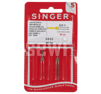 Jehly Singer 2028 / TWIN 90 (14) - rozpich 2mm, sada 2ks