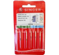 Jehly Singer 2054 - 2x 70/09, 3x 90/14 - overlock