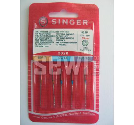 Jehly Singer 2020 / 2x80 (11), 2x90 (14), 1x100 (16) - univerzální 5ks