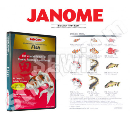 Janome Embroidery COLLECTION - FISH