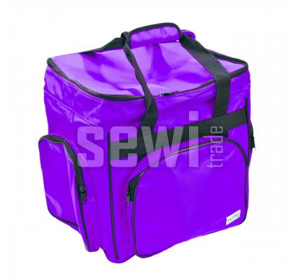 Taška na overlock fialová