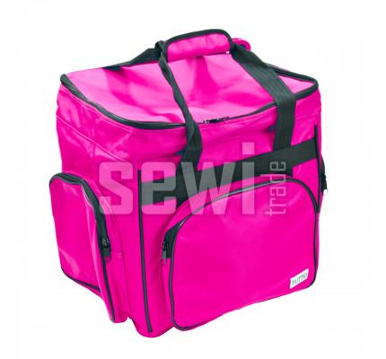 Taška na overlock růžová