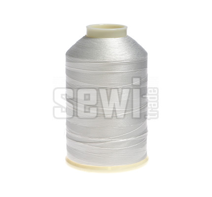 Vyšívací nitě bílá ROYAL C001 návin 5000 m viskóza