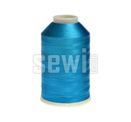 Vyšívací nitě modrá ROYAL C107 návin 5000 m viskóza