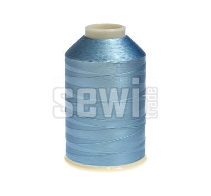 Vyšívací nitě modrá ROYAL C124 návin 5000 m viskóza