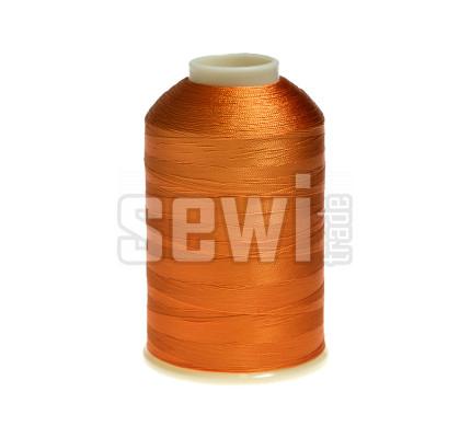 Vyšívací nitě oranžová ROYAL C216 návin 5000 m viskóza