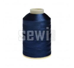 Vyšívací nitě modrá ROYAL C334 návin 5000 m viskóza