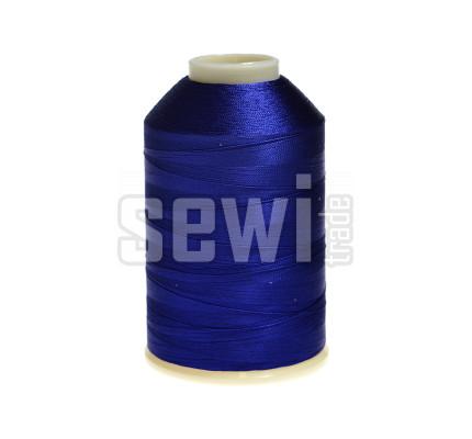 Vyšívací nitě modrá ROYAL C355 návin 5000 m viskóza