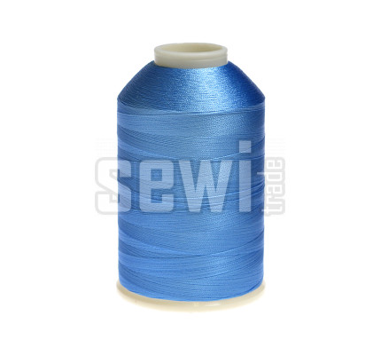 Vyšívací nitě modrá ROYAL C378 návin 5000 m viskóza
