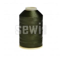 Vyšívací nitě zelená ROYAL C411 návin 5000 m viskóza