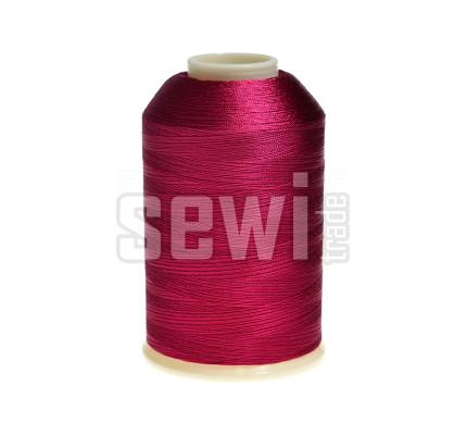 Vyšívací nitě růžová fuchsia ROYAL C450 návin 5000 m viskóza