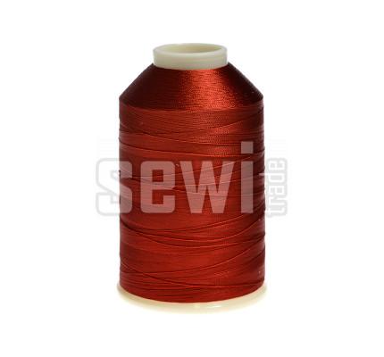 Vyšívací nitě červená ROYAL C725 návin 5000 m viskóza