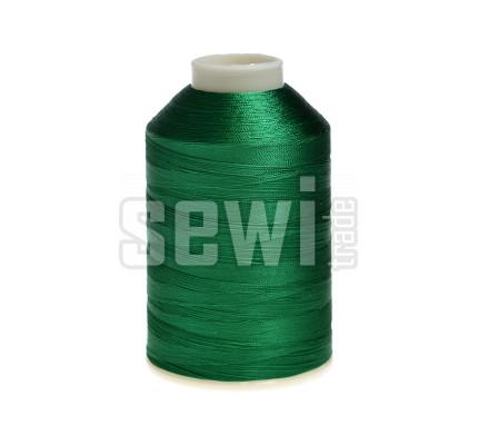 Vyšívací nitě zelená ROYAL C753 návin 5000 m viskóza