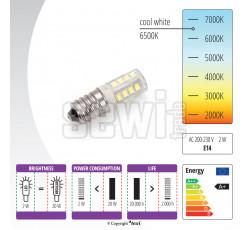 Žárovka LED 230 V, 2 W,  se závitem