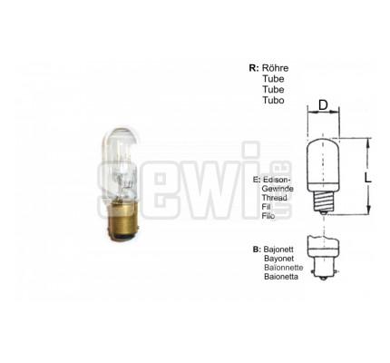 Žárovka 15W, 230V, E14, 18x50