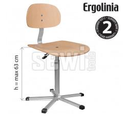 Průmyslová židle ERGOLINIA EVO4