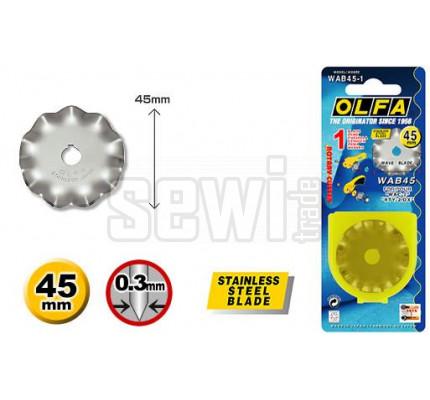 Náhradní kulatá čepel OLFA WAB45-1