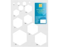 Šablona Hexagony