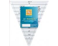 Trojůhelník s úhlem 45°