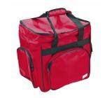 Taška na overlock červená